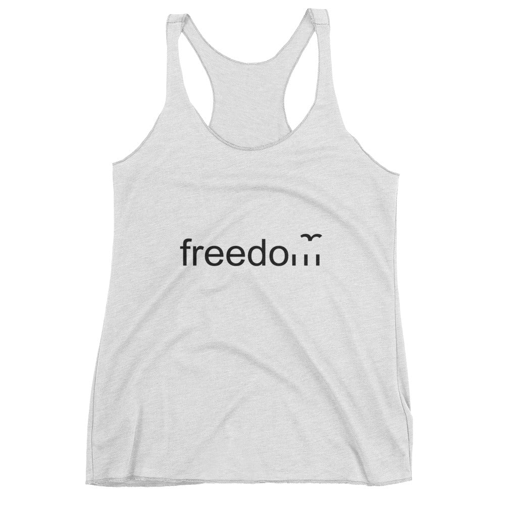 Be free little bird - Women's Racerback Tank