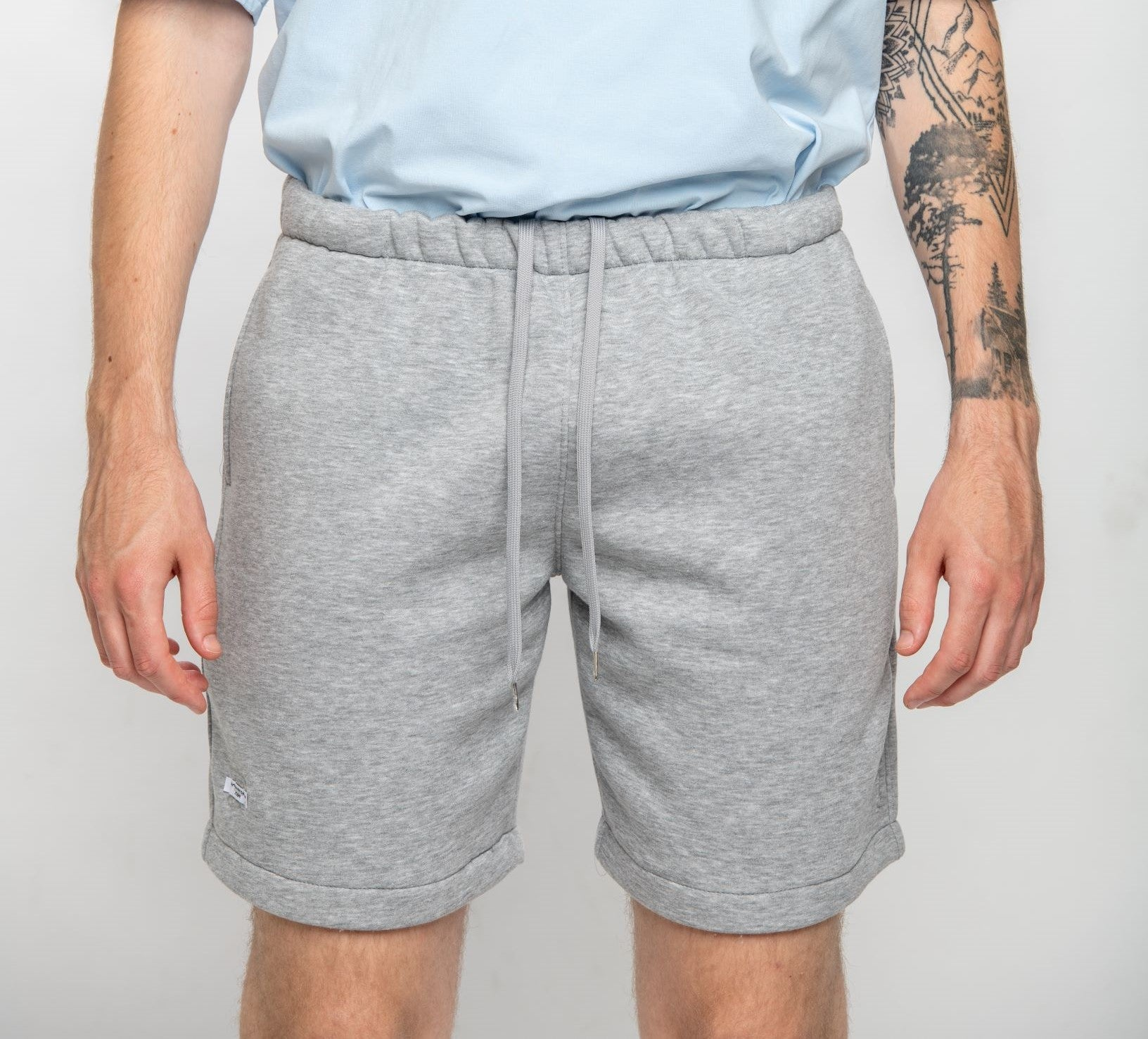 Anniversary shorts grey