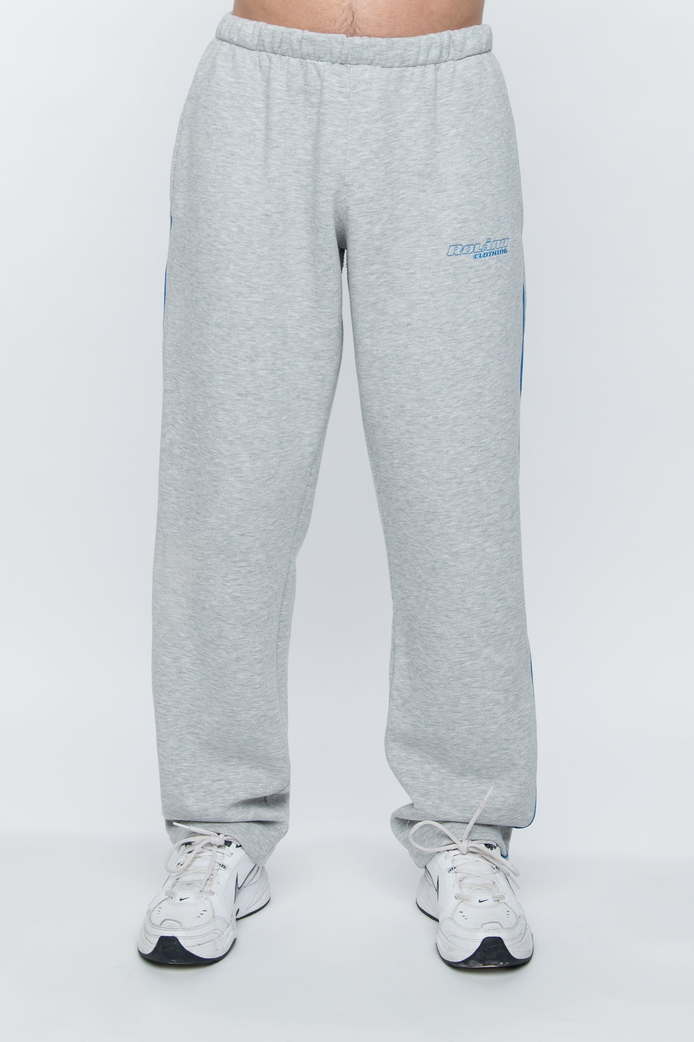 Sweatpants loose grey