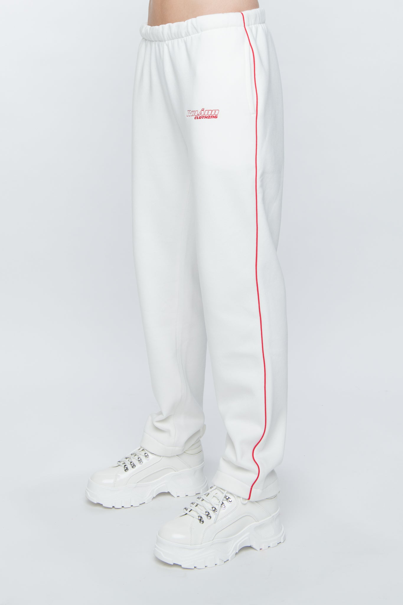 Sweatpants loose white