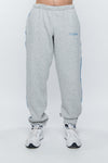 Sweatpants tapered grey