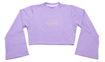 Cropped top lilac