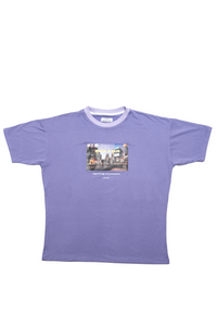 Graphic T-shirt Lilac