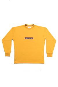 THIRD ECHO OCRE YELLOW LONGSLEEVE