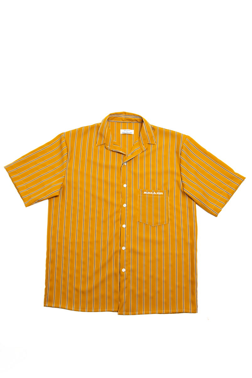 Striped shirt yellow