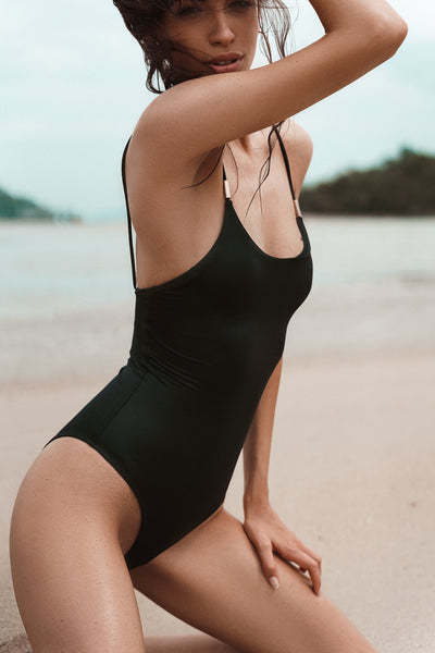 Gia One-Piece , Black Wet Effect