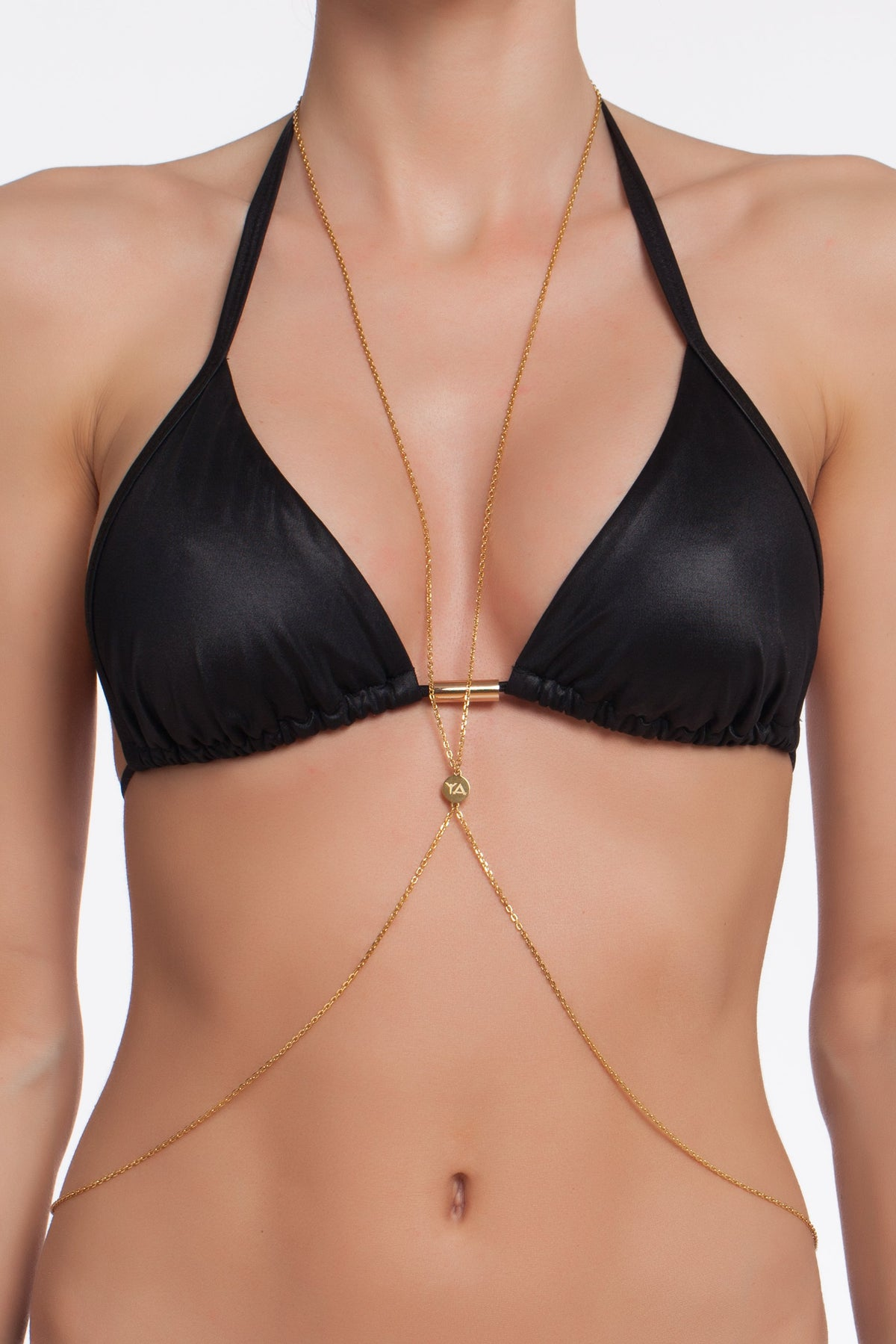 Ibiza Body Chain, Stainless Steel
