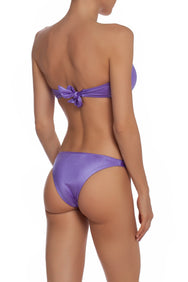 Brigitte Bikini Set In Purple Shine