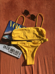 NIKKI SWIM SET, TUSCAN YELLOW
