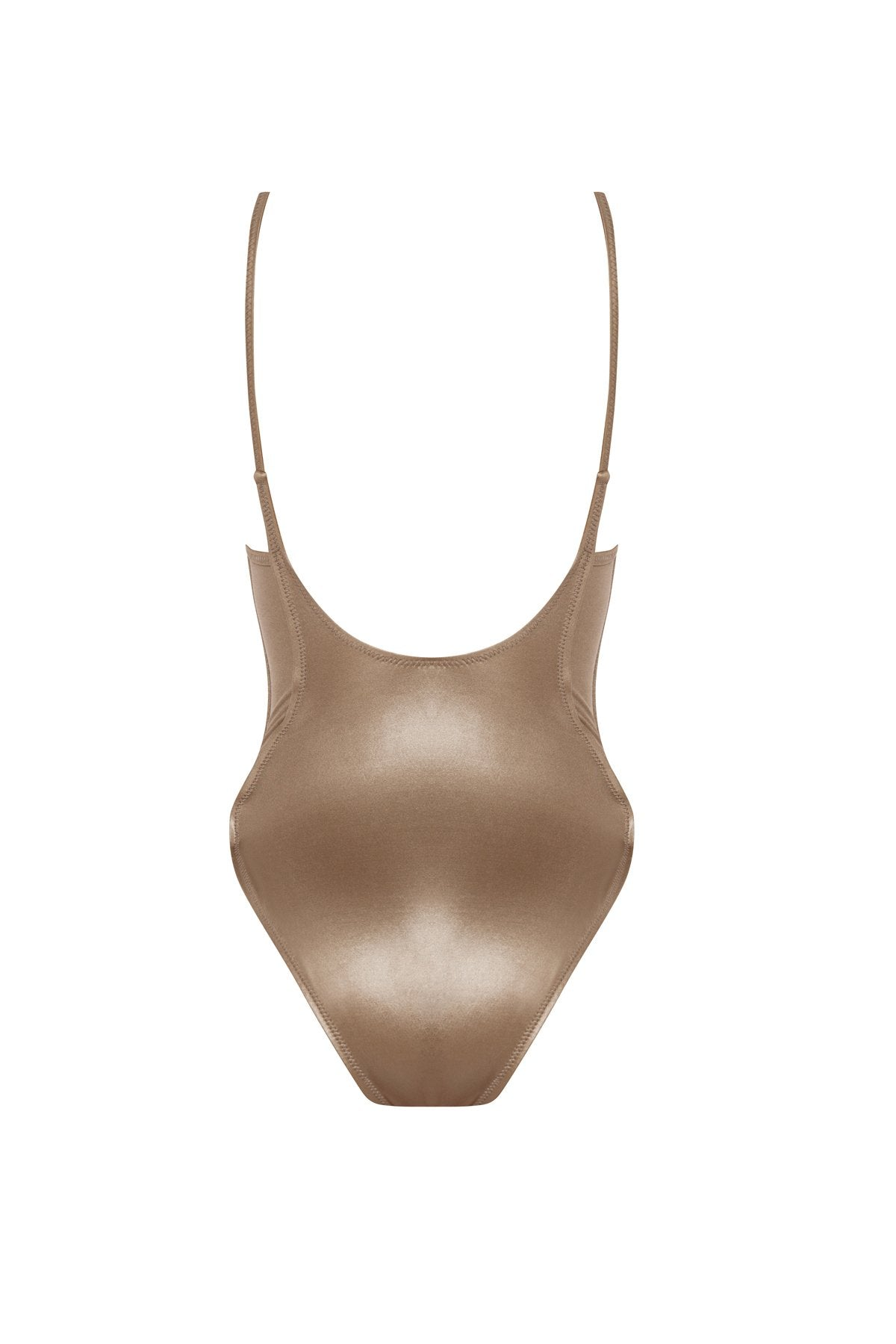 BIANCA One-Piece in Gold Pearl