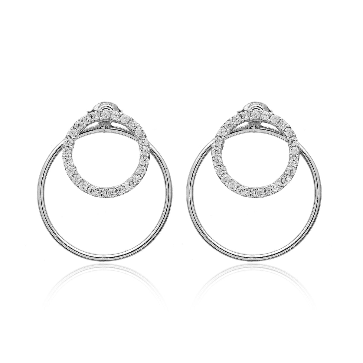 Leila Silver Earrings