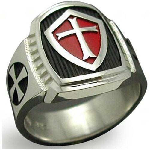 Knights Templar Titanium Ring - All Star Products