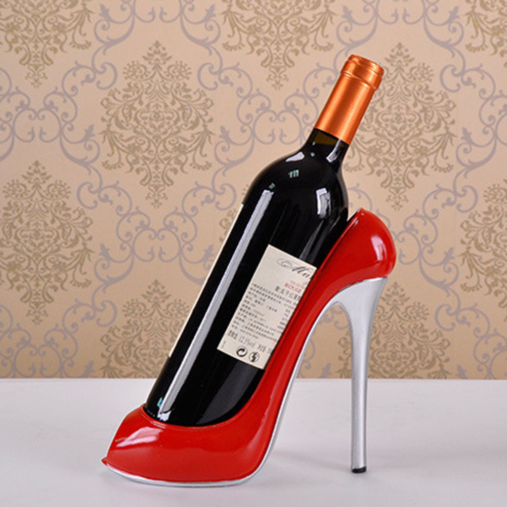 High Heel Wine Bottle