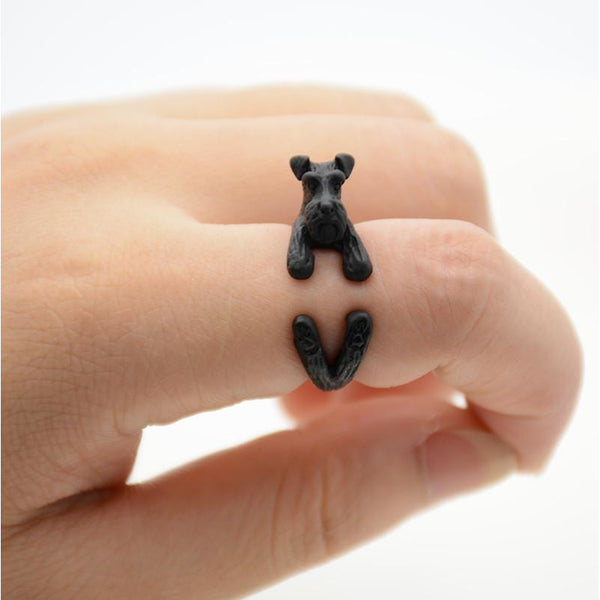 Awesome Schnauzer Ring