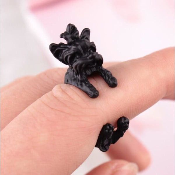 Adorable Yorkie Ring