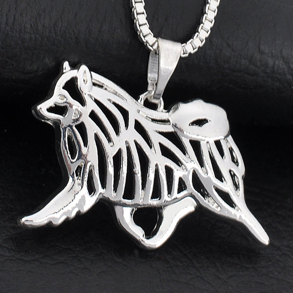 Keeshond Movement Necklace