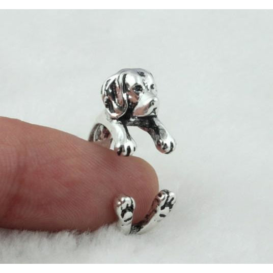 Adorable Beagle Ring
