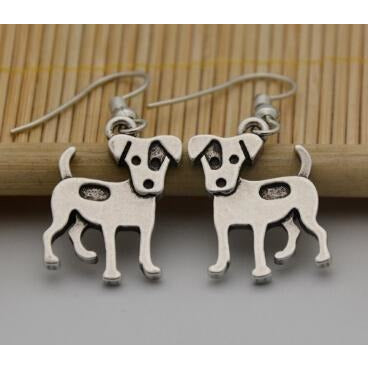 Jack Russell Earrings