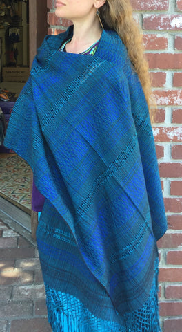 Rebozo Handwoven Traditional Shawl Baby Carrier with Silk