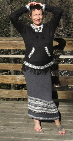 Alpaca Skirt Cozy Winter Sale