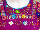 Rocio Dancer Blouse Pulled Thread Embroidered Traditional Blouse
