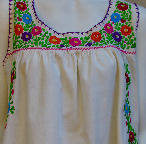 Peasant Mexican Blouse 66