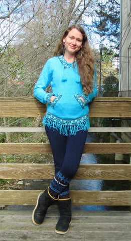 Alpaca Leggings Sweater-pants