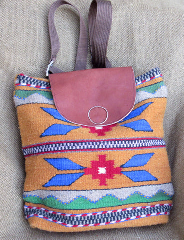Pajaro Handwoven Zapotec Backpacks