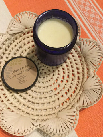 Cabra Del Sol Natural Body Butter Lotion