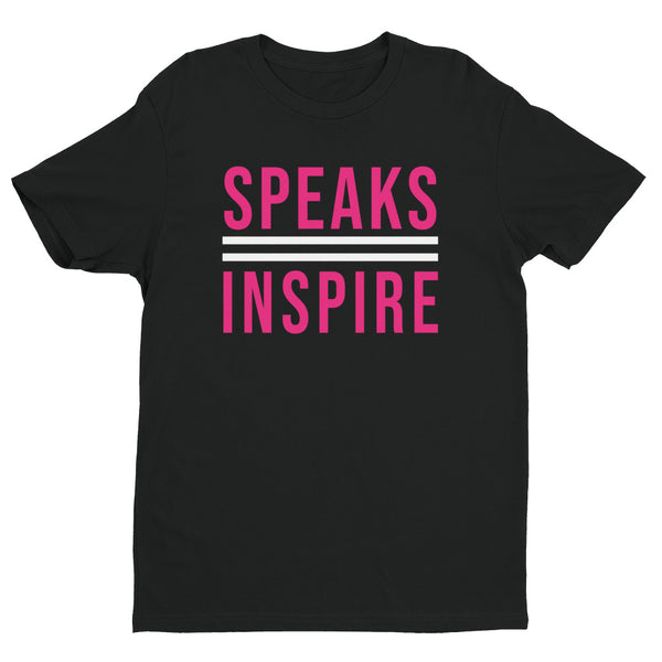 Speaks2Inspire Black/Pink T-Shirt