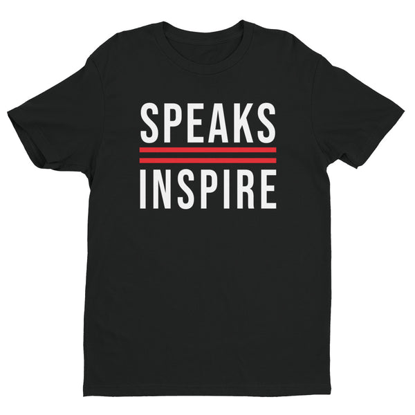 Speaks2Inspire Black/White/Red T-shirt