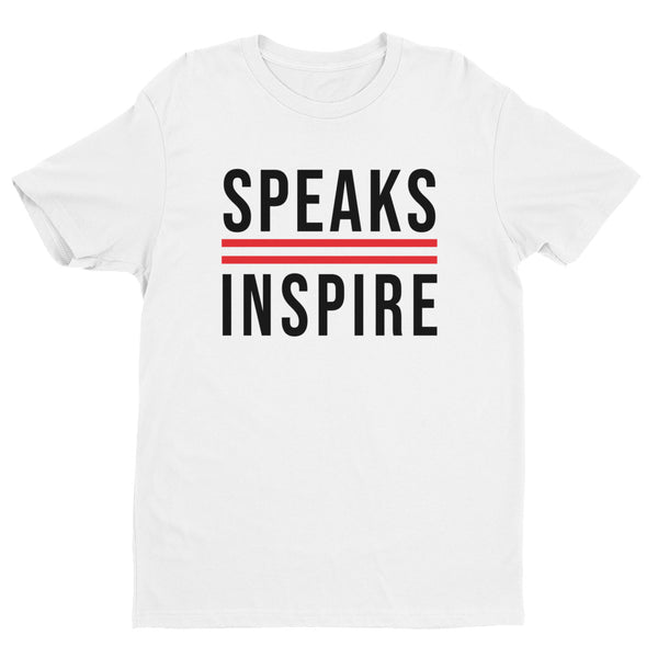 Speaks2Inspire White/Black/Red T-shirt