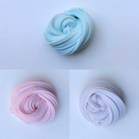Cotton Candy Fluffy Slime Bundle