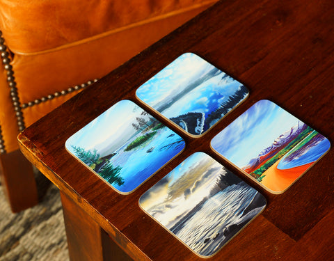 Loch Morlich Coaster Set