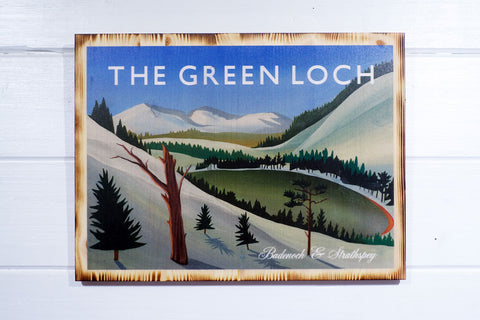 Green Loch, Cairngorms National Park, Angus Grant Art print