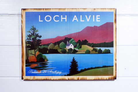 Loch Alvie, Kincraig, Cairngorms National Park, Angus Grant Art print