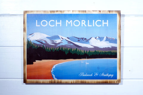 Loch Morlich, Cairngorms National Park, Angus Grant Art print