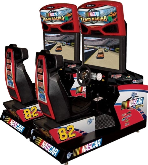 NASCAR RACING SITDOWN DRIVING  ARCADE