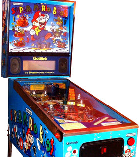 Super Mario Bros. Pinball Machine