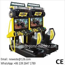 2 Linked Hummer Driving Game