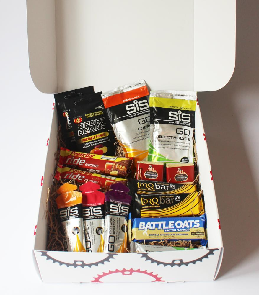 monthly subscription box cycling nutrition
