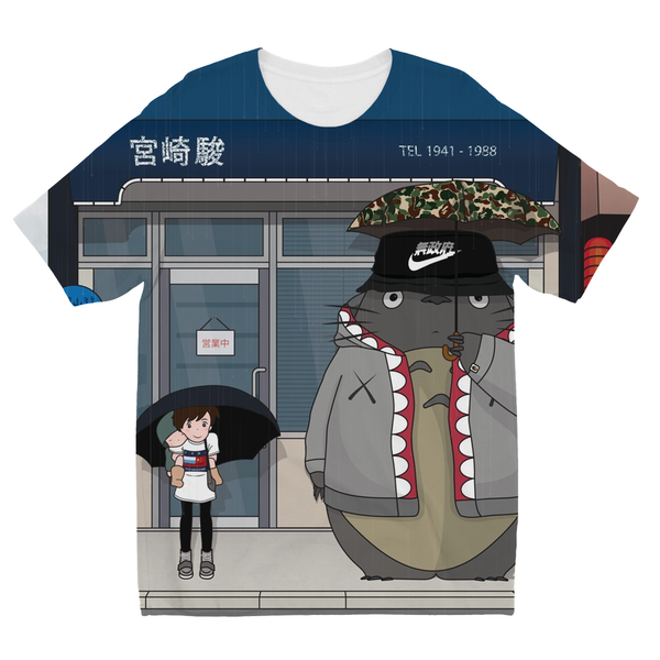 Totoro and Mei Kids Sublimation TShirt