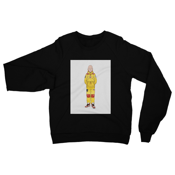 Saitama (One-Punch Man) Heavy Blend Crew Neck Sweatshirt