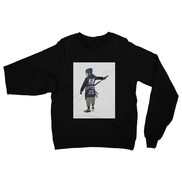 Sasuke (Naruto) Heavy Blend Crew Neck Sweatshirt