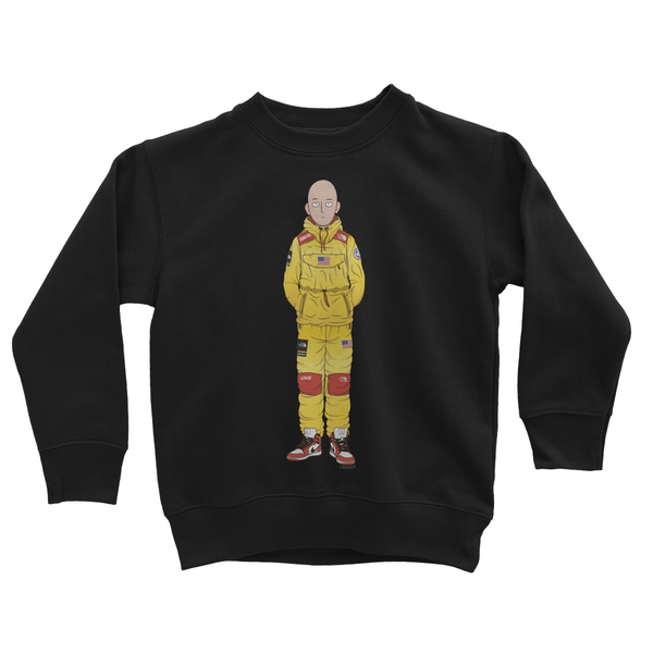 Saitama (One-Punch Man) Kids Sweatshirt