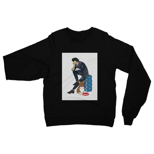 Spike (Cowboy Bebop) Heavy Blend Crew Neck Sweatshirt