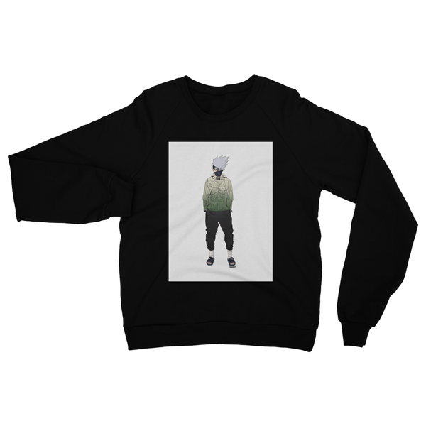 Kakashi (Naruto) Heavy Blend Crew Neck Sweatshirt