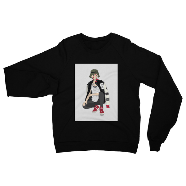 San (Mononoke) Heavy Blend Crew Neck Sweatshirt