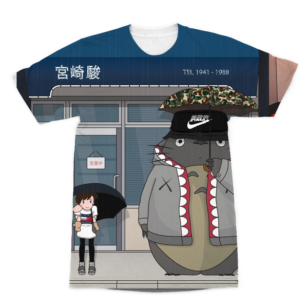Totoro and Mei Sublimation T-Shirt