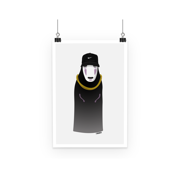 No Face (Spirited Away) Poster